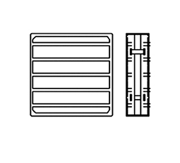 Air Transfer Grille 1500 Illustration