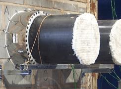 pipe collars testing