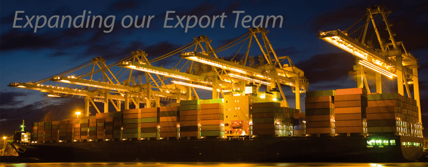 Expanding Our Export Team News Header