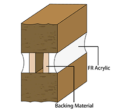 Fire Rated Sealant Double Sided Joint Illustration