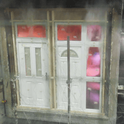 composite door seal testing
